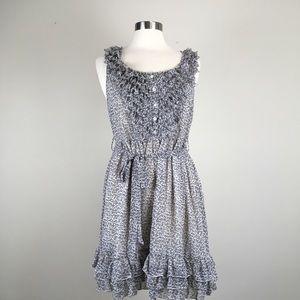 9c0122b877 Black Rainn floral boho prairie dress